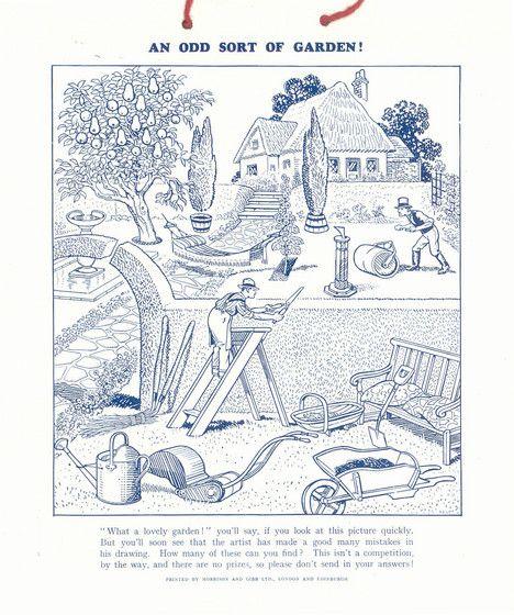 Sunny Stories Calendar 1951 by Enid Blyton