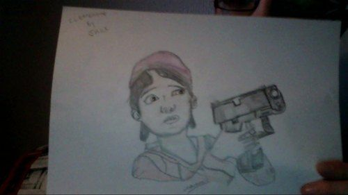//My Clementine Drawing