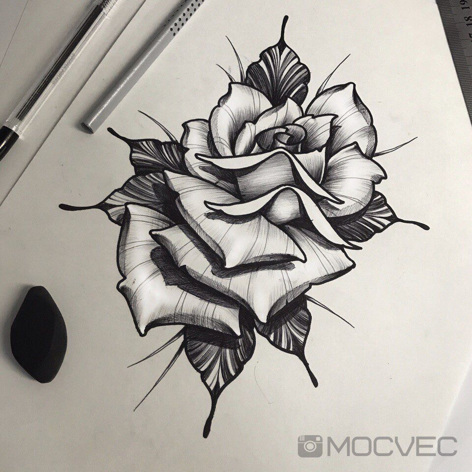 Pin By Sara Capra On Flor Traditional Rose Tattoos Rose Flower Tattoos Tattoo Desings