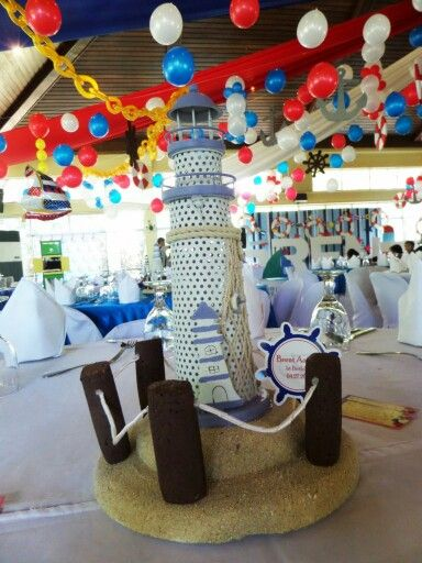 Lighthouse Table Centerpiece