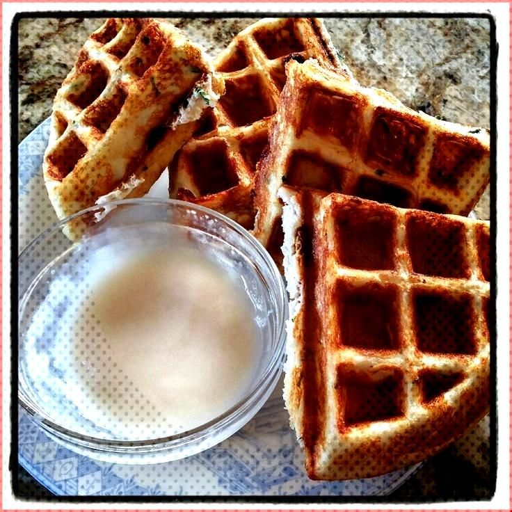 Lemon Mint White Chocolate Waffles amp Pancakes - -