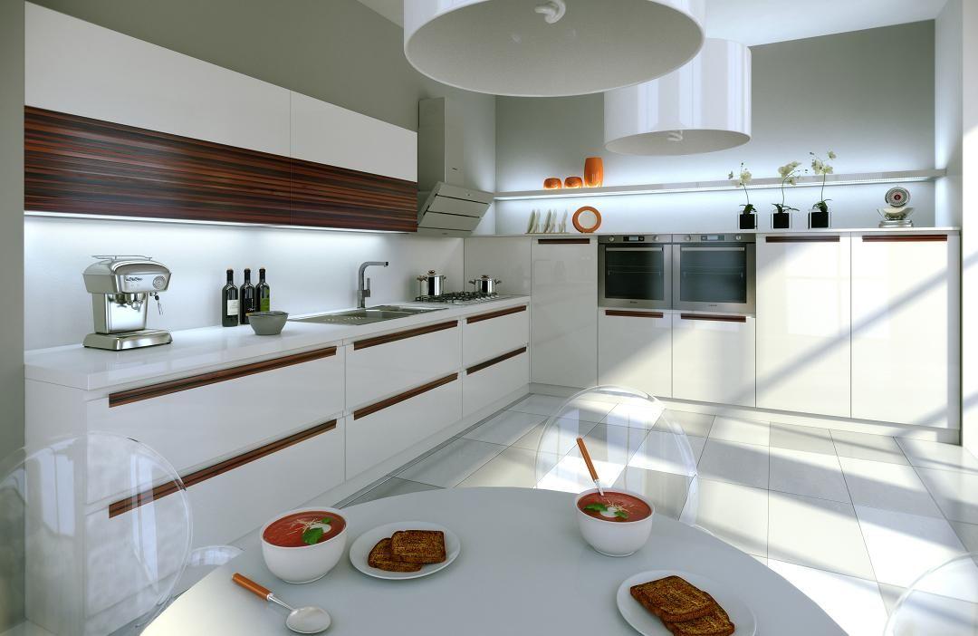 Kuchnia Bez Uchwytów Szukaj W Google Kuchnia Kitchen