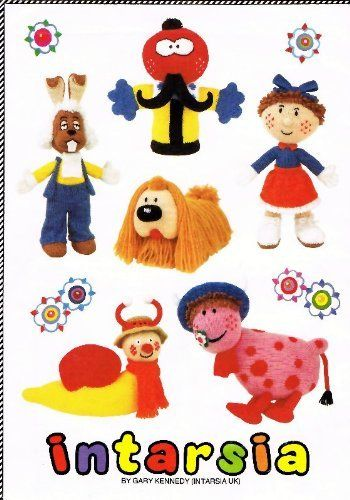 The Magic Roundabout: Toys by Alan Dart (Knitting Patterns) by Alan ...