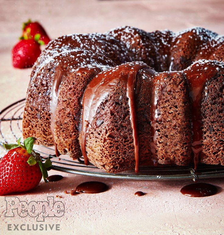 chocolate chocolate chip bundt cake calories
