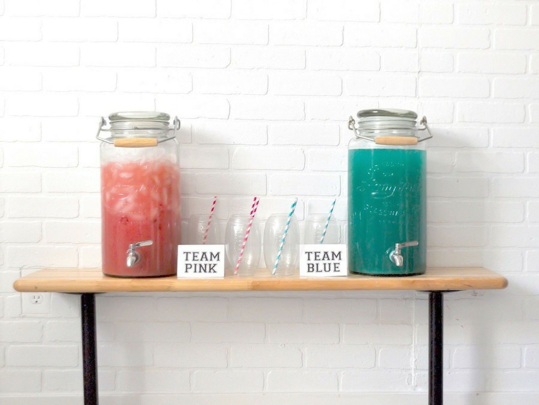 Pink and Blue Punch Recipe | baby shower | Pinterest | Blue punch ...