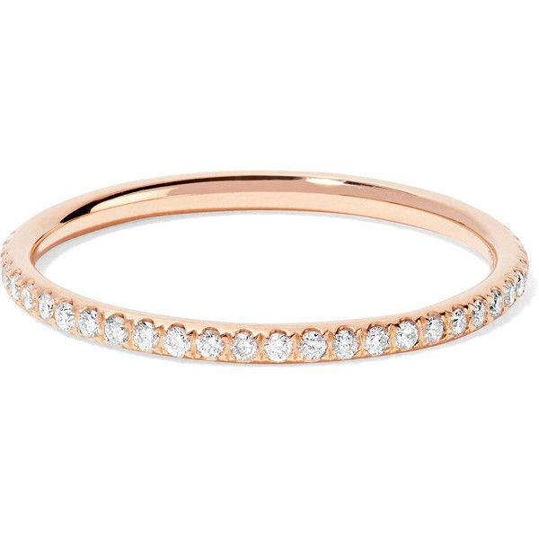 Ileana Makri Womens Diamond & Gold Eternity Band 7jjwr4IjR