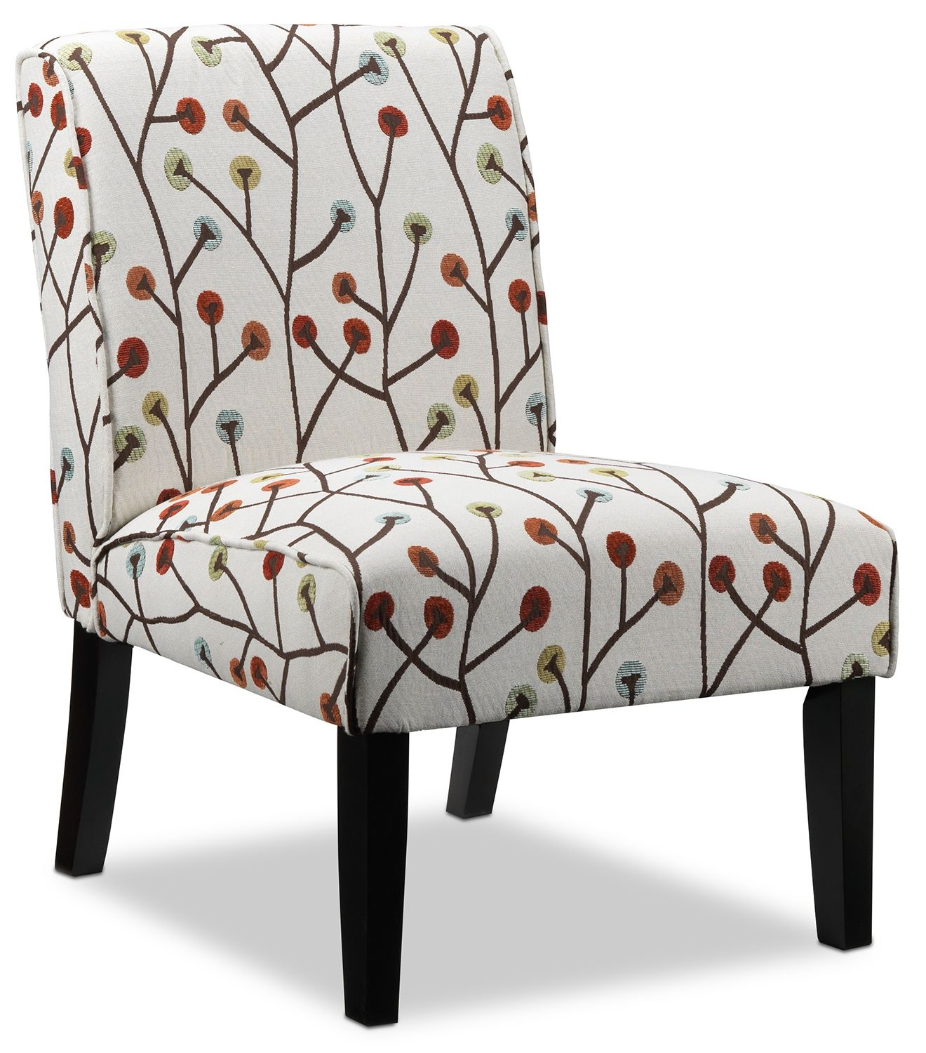 Delight Iii Upholstery Accent Chair Leon S Armless Accent
