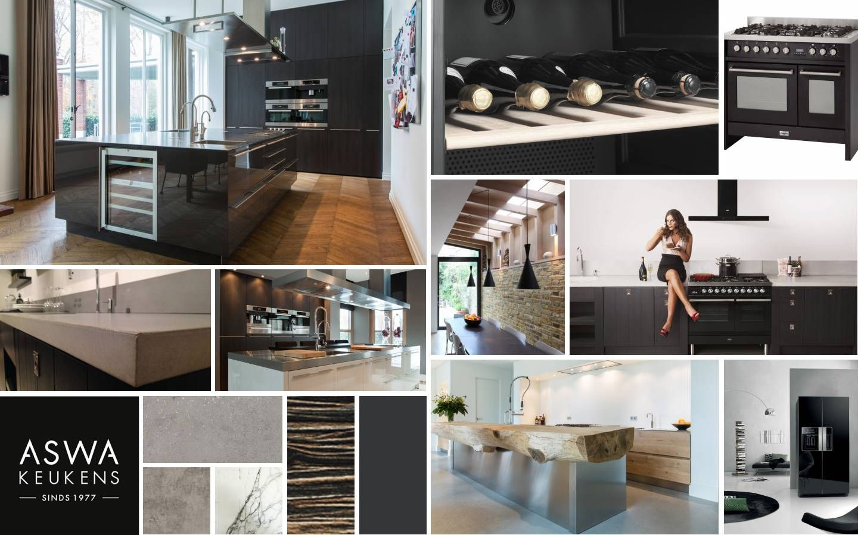 Aswa keukens moodboard kitchendream