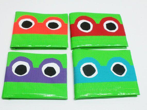 Ninja Turtle Duct Tape Wallet by