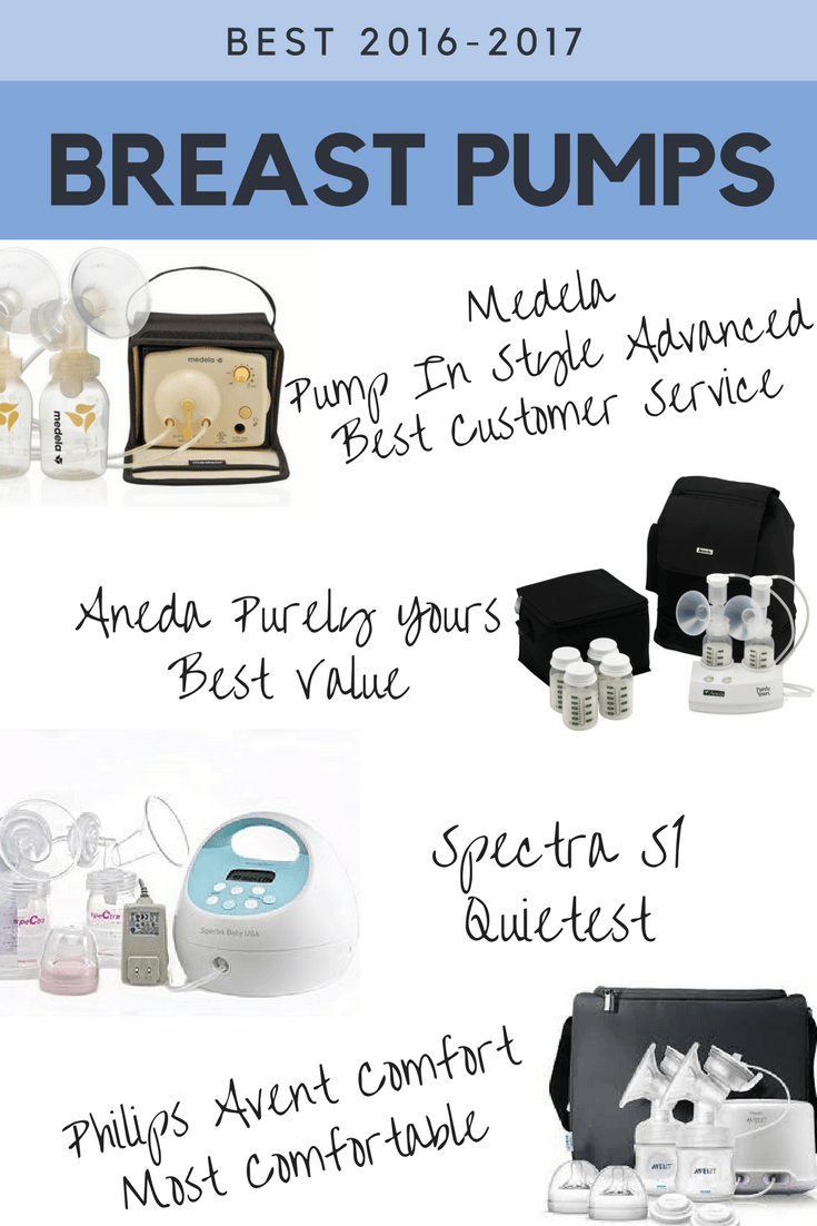 Best Breast Pumps For Working Moms 2016 - 2017 Double -1513