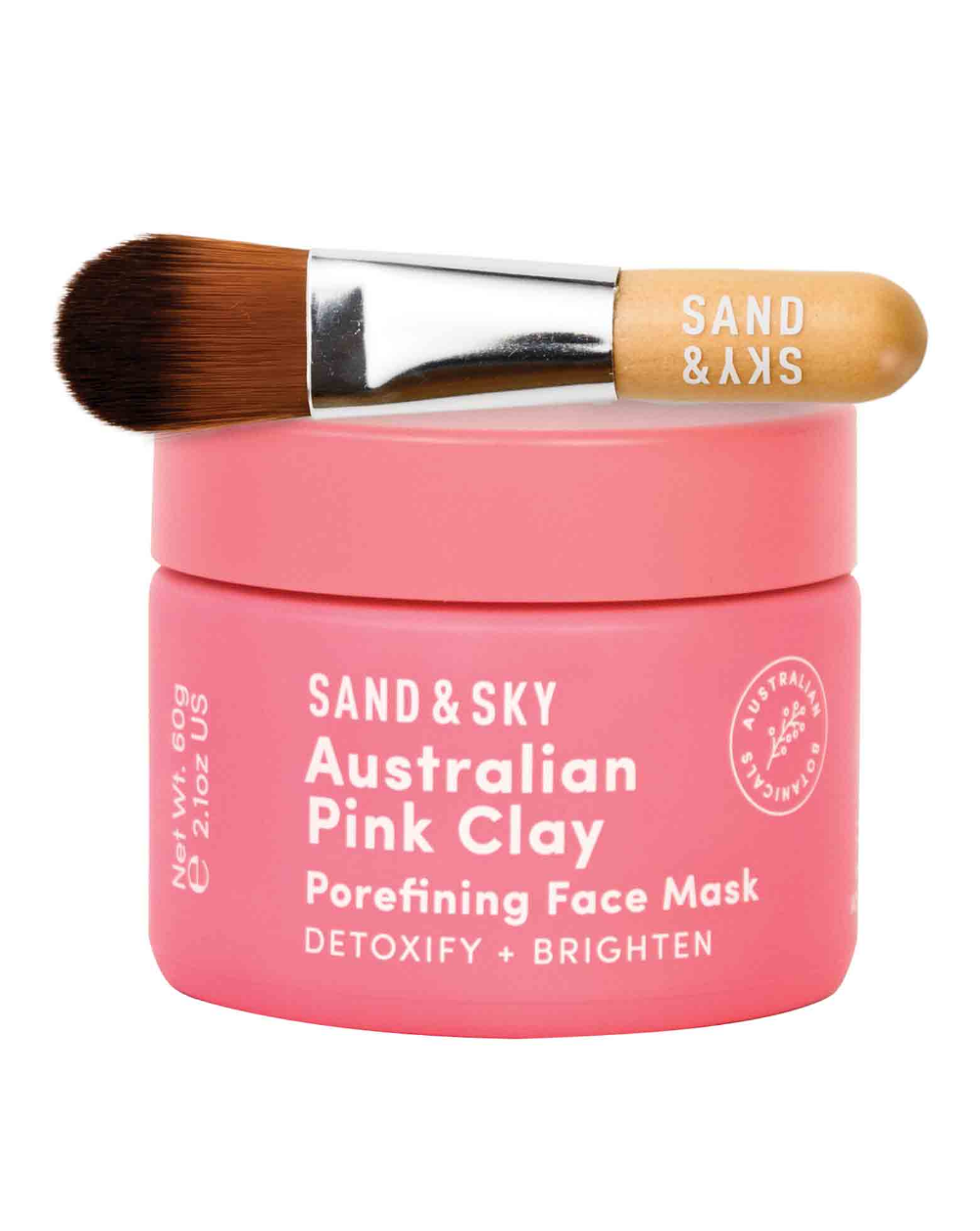 Sand&Sky Brilliant Skin Purifying Pink Clay Mask in 2020