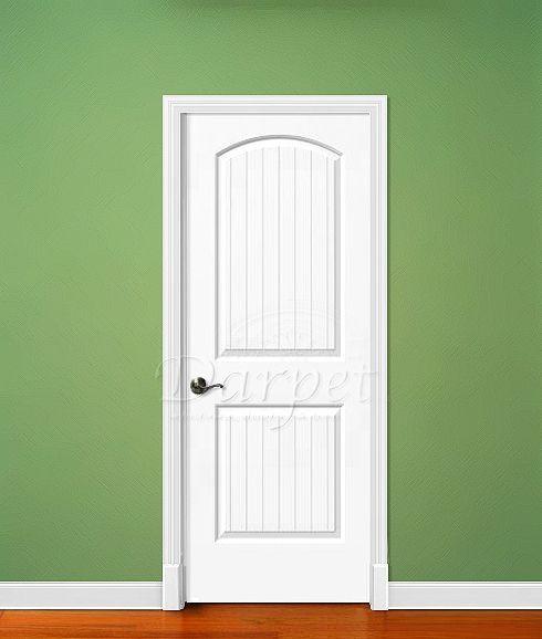 Arch Top 2 Panel Plank Door Cashal From CraftMaster | Darpet Interior Doors  For Chicago Builders