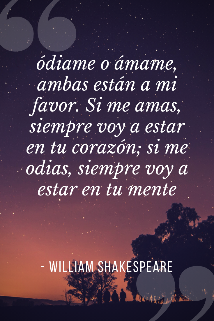 Frases Celebres William Shakespeare William Shakespeare Recordado Por Sus Hermosos Sonetos Amor