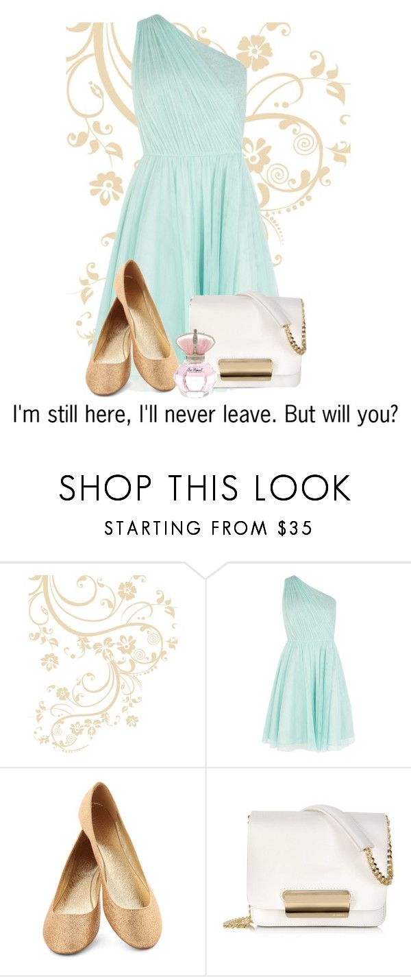 """I'm still here."" by emmabean-1 ❤ liked on Polyvore featuring Coast, Jil Sander and River Island"