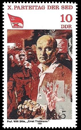 Briefmarken 1981 der Deutschen Post der DDR X