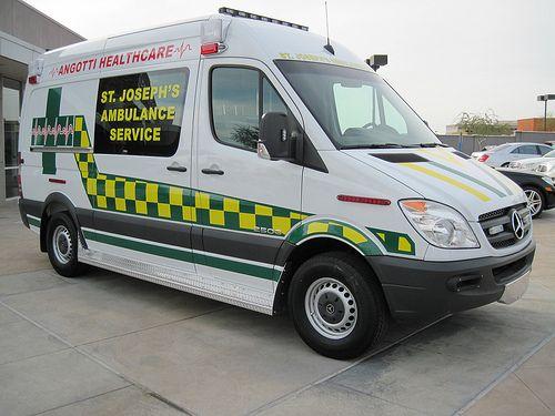 Saint Josephs Ambulance Service San FranciscoCA MercedesBenz - Mercedes benz service san francisco