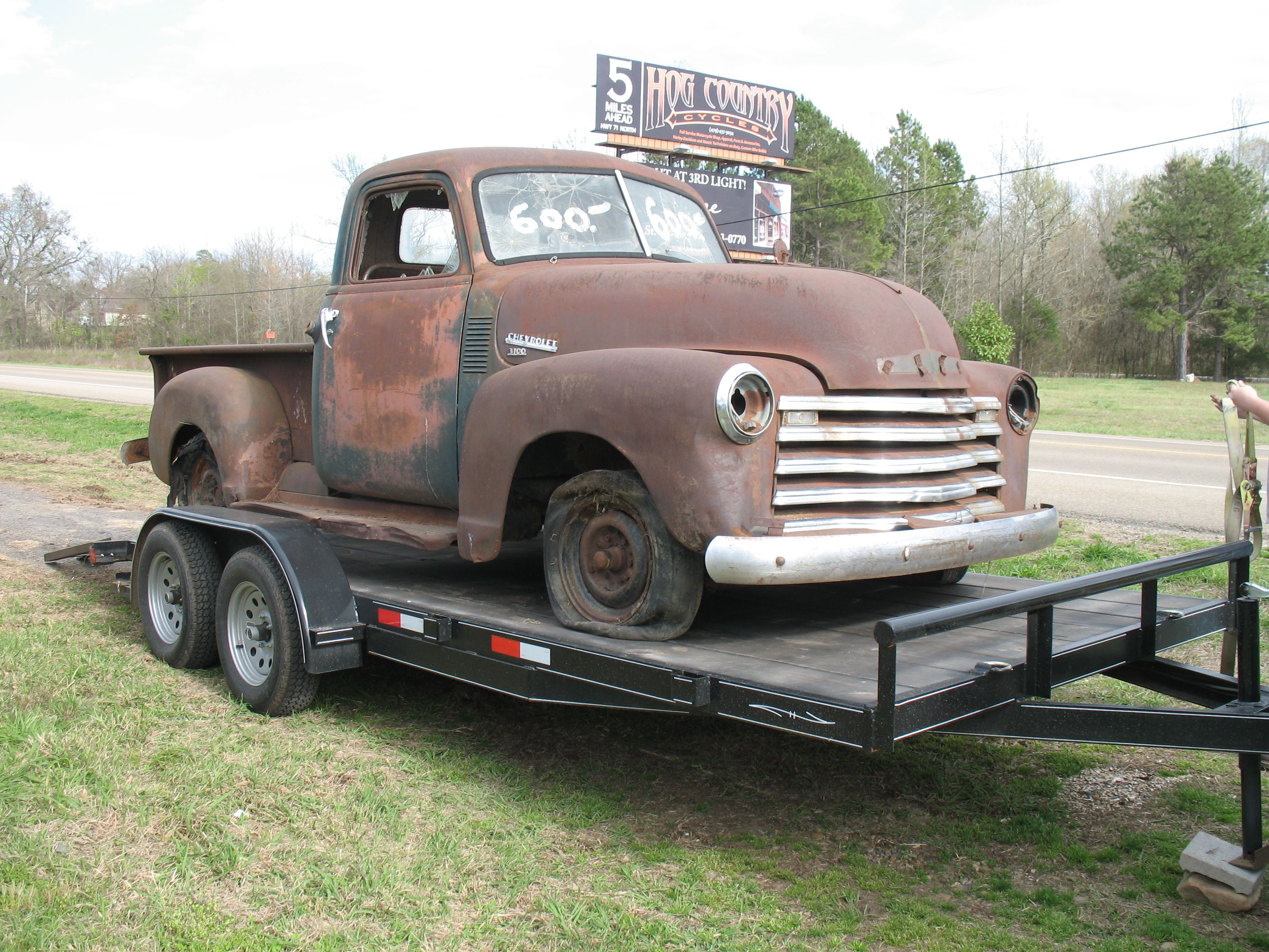 My truck kenziemx3 1950 chevy 3100 saved from the side of hwy