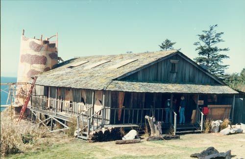 Goonies Lighthouse Restaurant Astoria Movie Set Location