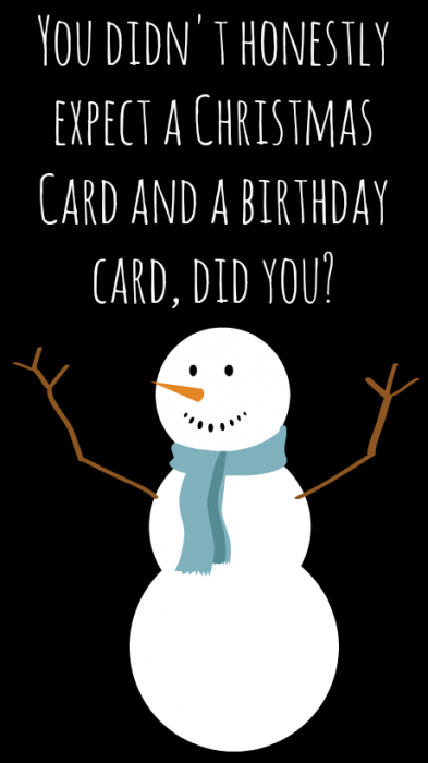 Send A Smile To Those Christmas Babies With Hallmark Birthday Cards Christmas Birthday Cards Funny Birthday Cards