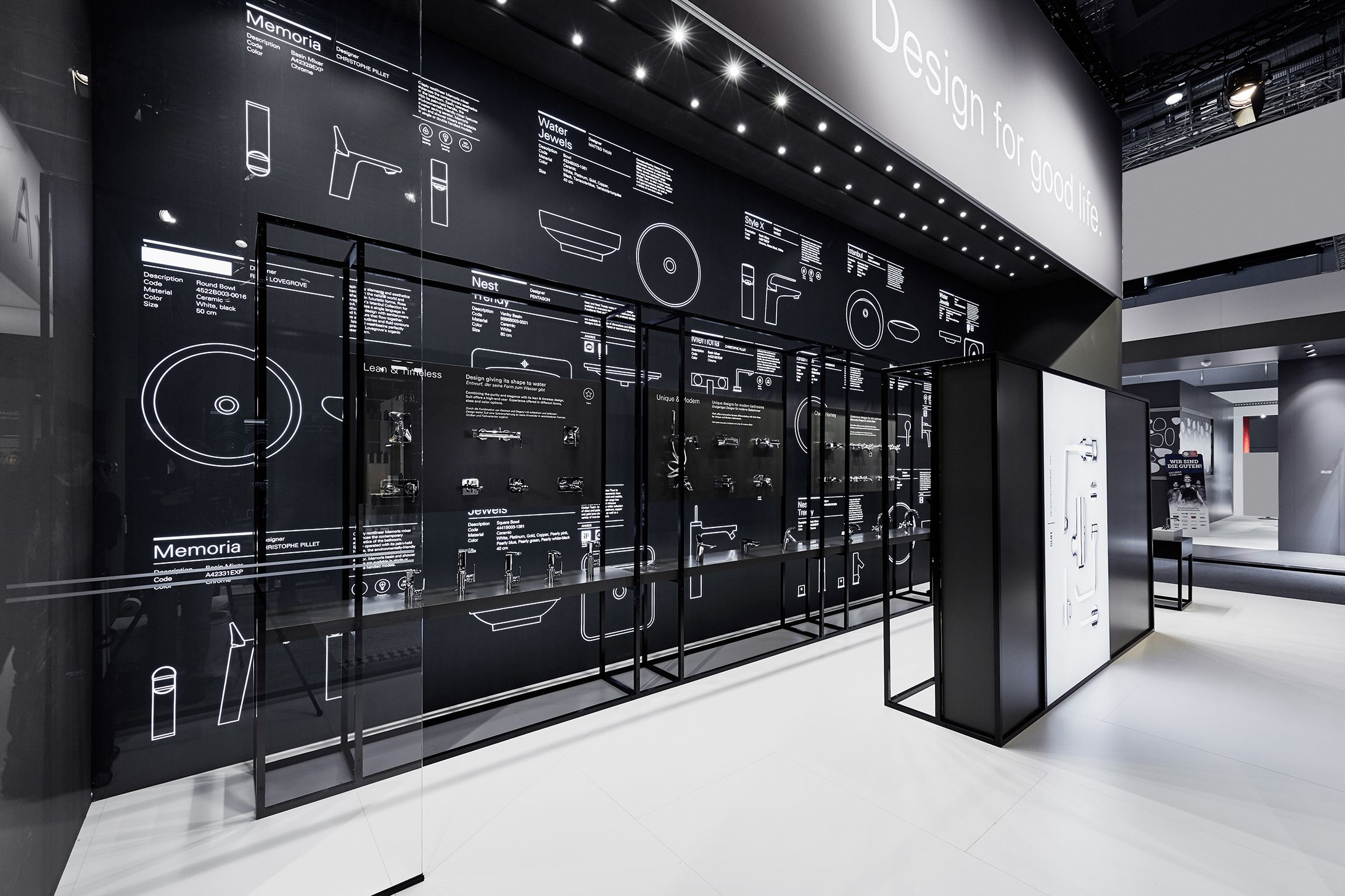 Vitra Ish Frankfurt 2017 Showroom Design Bathroom Showrooms