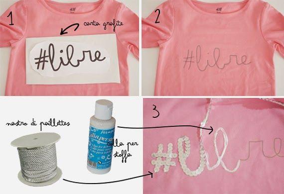 grande sconto confrontare il prezzo pacchetto alla moda e attraente Come personalizzare una maglietta | Progetti da provare ...