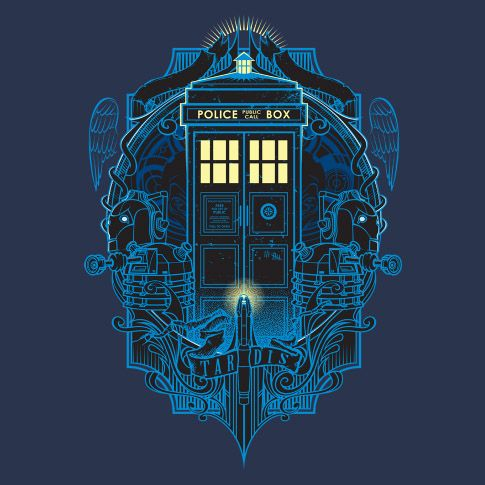 69bc96f3f5860 Doctor Who Dark T4RD1S T-Shirt   Doctor Who   Tardis, Tardis dr who ...