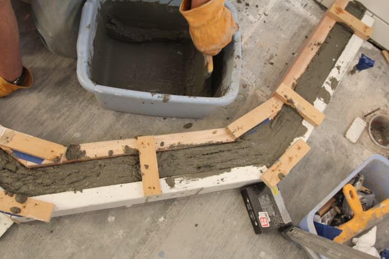 How To Build A Custom Tiled Shower Pan Deco Banos Banos Y Duchas