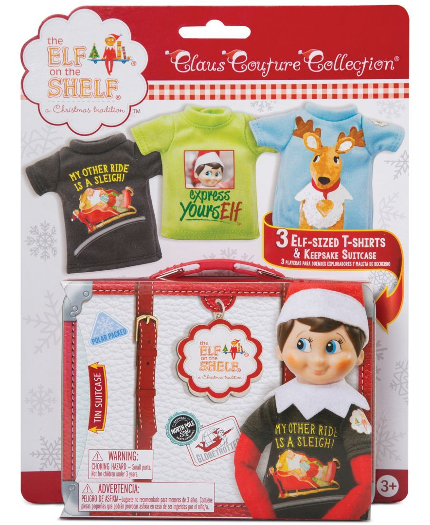 49d4dfdd3 Elf on the Shelf Claus Couture Collection 3-Piece Set - Holiday Lane - For  The Home - Macy's. Graphic TeesElf ...