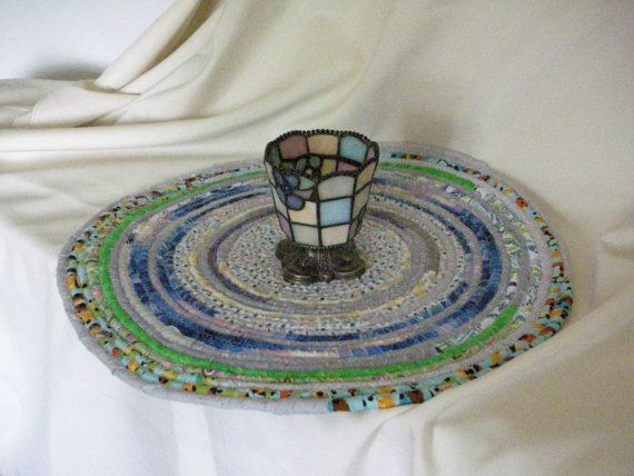 Table Topper Placemat Doily by QuiltingMyWay on Etsy, $20.00