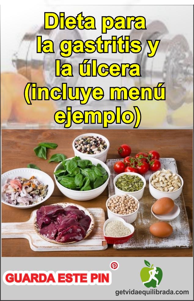 Dieta que debe seguir una persona con gastritis
