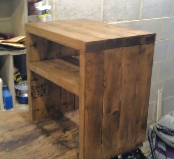 Best More Like Home Day 25 Build A Simple Modern Nightstand 400 x 300