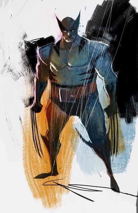 Stunning Wolverine Fan Art by Mike Huddleston