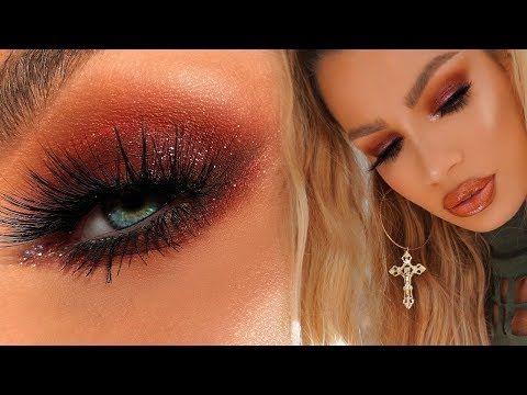 Fall Red Smokey Eye Makeup Tutorial Nikki French
