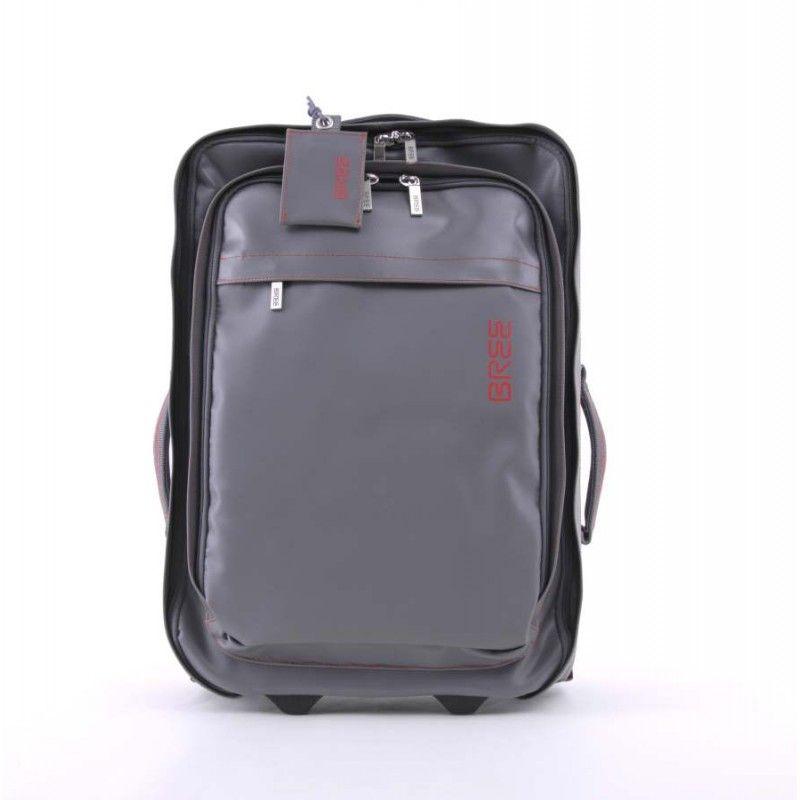 am anfang war die briefträgertasche ... (BREE Punch 90 - Trolley - in anthra in Kategorie Trolley - Reisegepäck im offiziellen BREE Online Shop)