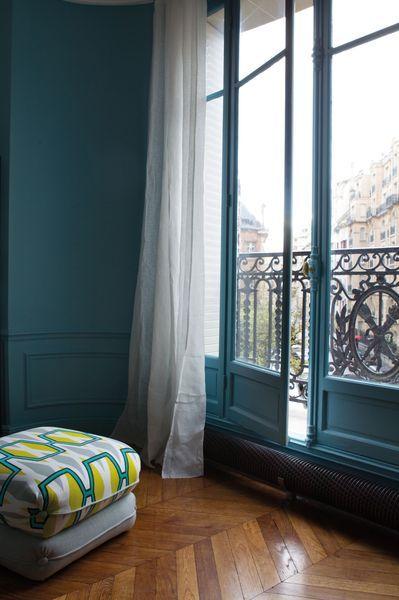 Peinture Salon Bleu De Prusse Tollens Collection Mise En Teinte