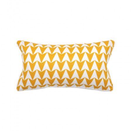 Geometric-Cushion-Mustard
