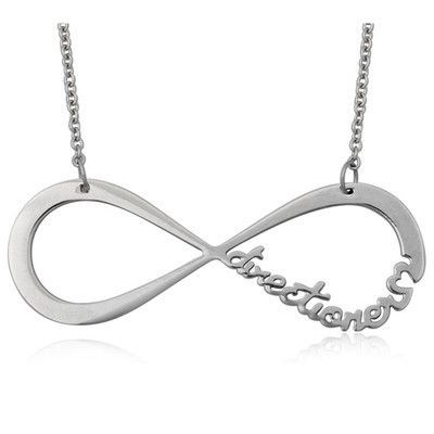 One Direction 1d Directioner Infinity Necklace Yes I Fangirled It S On Ebay 3 Infinity Necklace Silver Infinity Necklace Fan Necklace