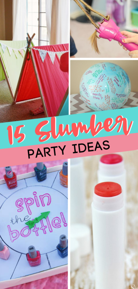 15 Fun Slumber Party Ideas for Girls - Slumber party crafts, Slumber party birthday, Girls birthday party ideas sleepover, Slumber party activities, Girls slumber party, Tween birthday party - Let your daughter get her fun on with these 15 Fun Slumber Party Ideas for Girls