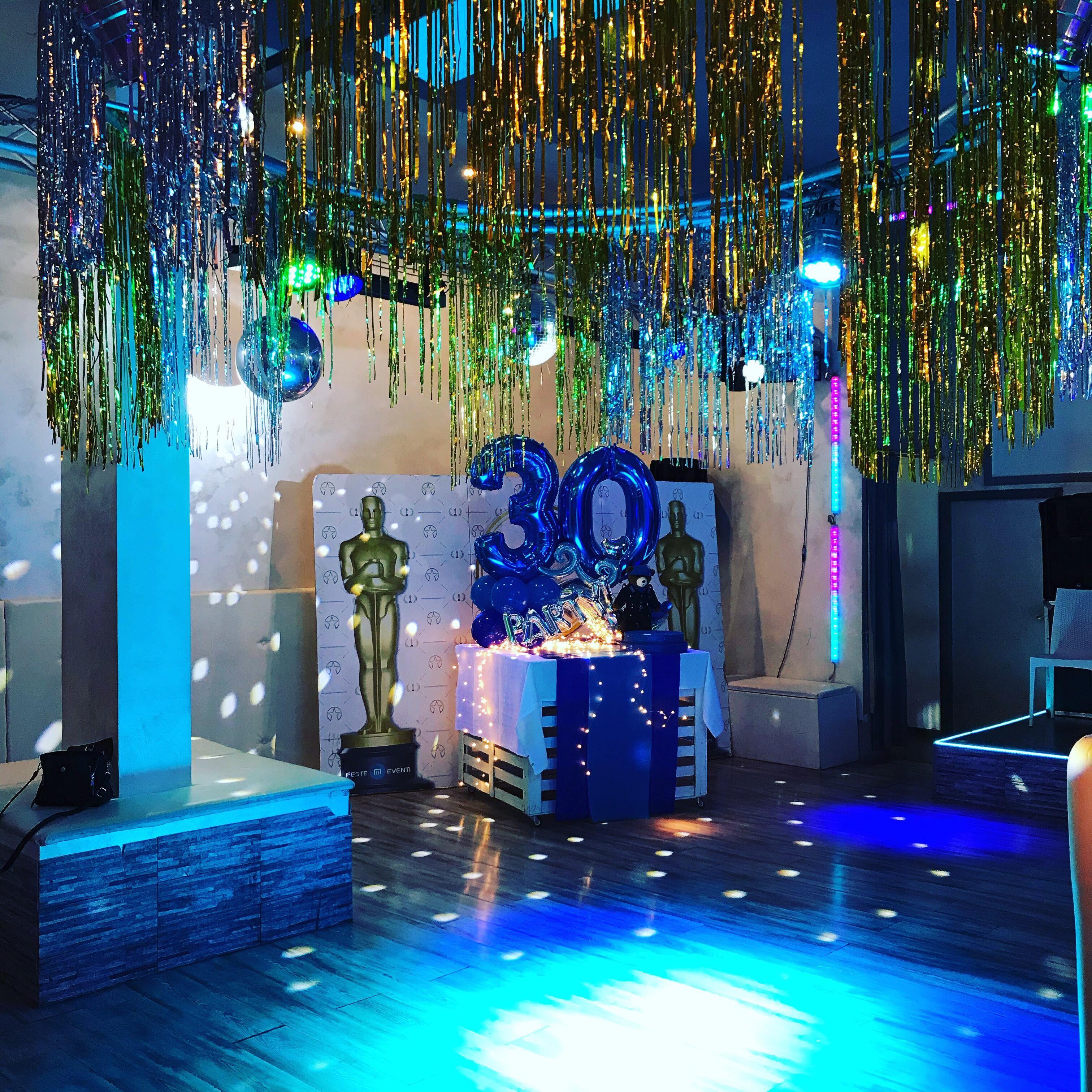 Sorprese Per Un Compleanno blue party! festeggiare 30 anni (con immagini) | festa a