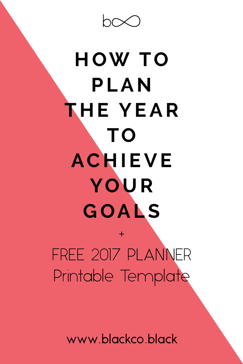 how to plan to achieve your goals