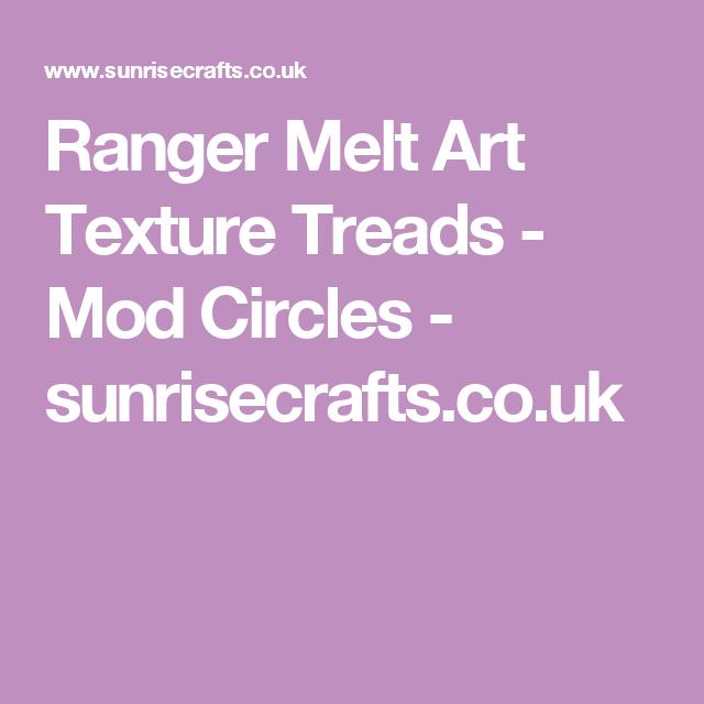 Ranger Melt Art Texture Treads Mod Circles Online Craft