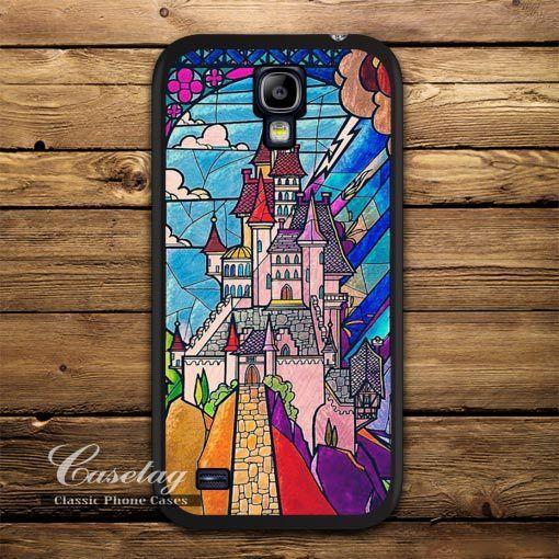 Amour château de la belle et la bête Case pour Galaxy S5 S4 S3 mini Note 4 gagner i8552 méga 6.3 Ace 3 2 Duos classique couverture de qualité dans Sacs et Etuis pour Téléphone de Téléphones et télécommunications sur AliExpress.com | Alibaba Group