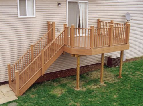 10 X 12 Deck W Custom Railings At Menards Pergola Sun Shade Outdoor Pergola Wood Pergola