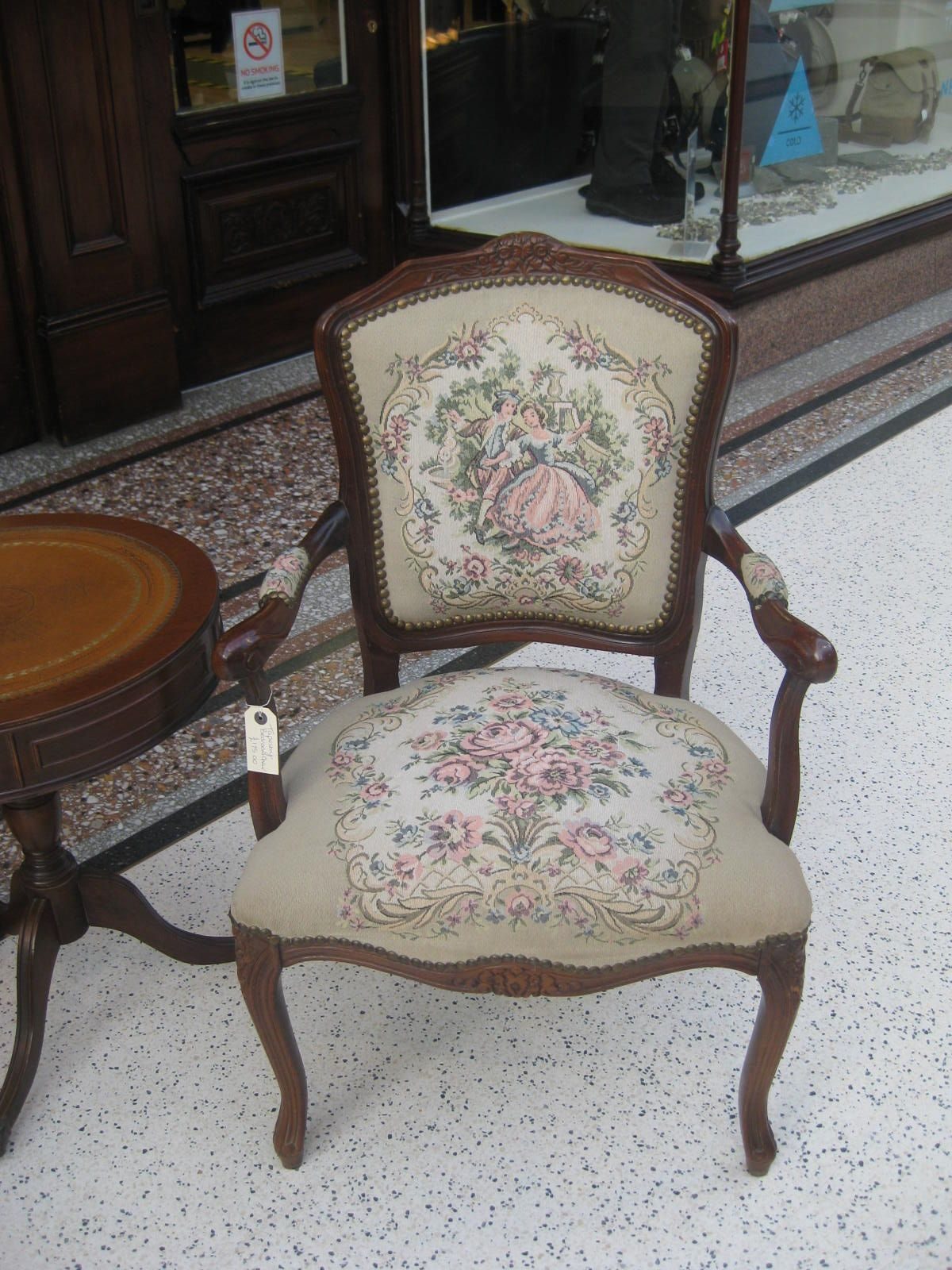 French Tapestry Chair Tapestry Chairs In 2019
