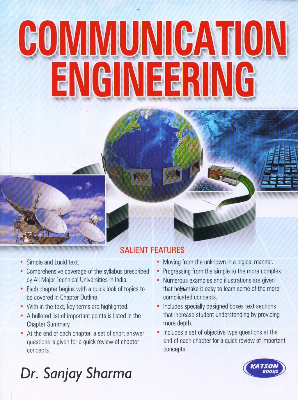 Communications engineering books communication engineering book o communications engineering books communication engineering book online author sanjay sharma publisher sk kataria and sons about book covers all the fandeluxe Choice Image
