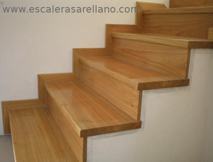 Escaleras en lapacho buscar con google my home pinterest escalera buscar con google y - Como forrar una escalera de madera ...