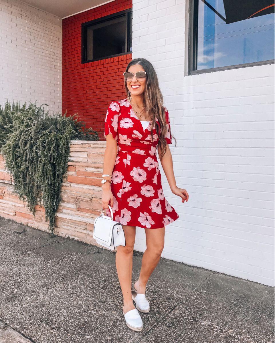 Red Floral Dress 🌺 @naomi.noel | LIKEtoKNOW.it