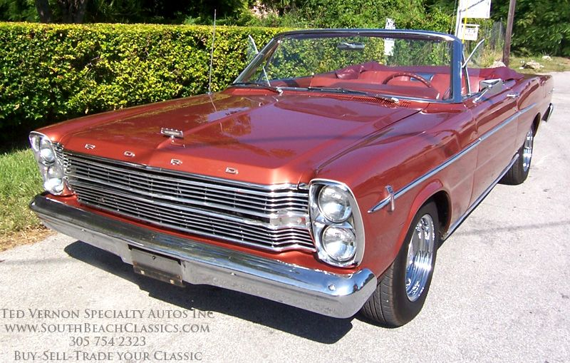 1966 Ford Galaxie 500 Convertible Love American Style