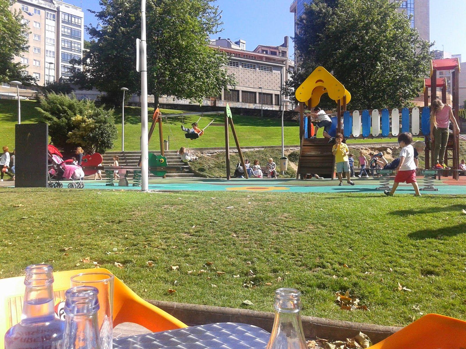 Cafés Con Parque Infantil Exterior Parques Infantiles Parques Viajes