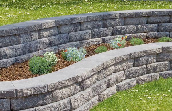 Gartenmauer Pflanzsteine und andere Möglichkeiten der